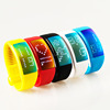Mobile phone accessories W4 usb 3D pedometer smart bracelet chargeable smart watch