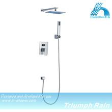 dual-function massage hidden bath shower mixer/set/bathrooom accessories