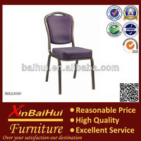 BH-L8089 Purple color Stackable used banquet chairs