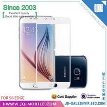 Mobile phone film 0.33mm thickess tempered glass screen protector for Samsung S6 Alibaba china