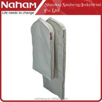 Naham Hottest TC Fabric suit cover,suit bag,garment bag for suit