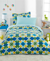 Children use100% cotton printed bed set duvet cover
