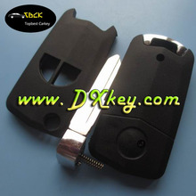 High quality 2 buttons flip modified remote key shell for car key cover suzuki car key suzuki flip key