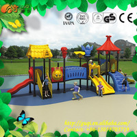 Hot Selling Amusement Park Play Center Playground Equipment, Colorful Slides, Kids Lovely Outdoor Climbing GQ-051-B