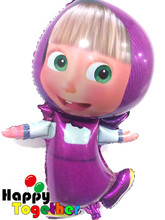 HAPPY TOGETHER Factory Wholesale Hot Selling Masha And the Bear Foil Balloon