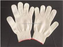 The gloves inner Cotton with polyester outside with 50% cotton