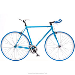 700C steel frame fixie bike alloy components fixed gear bike