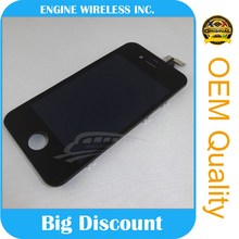 wholesale front assembly lcd display for iphone 4gs lcd assembly
