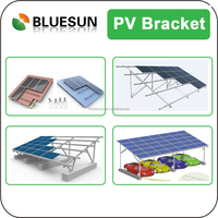 solar panel frame for Mounting structure for home DIY system