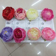 Manufacturers selling European autumn core simulation peony flowers Fake flowers desktop floral silk flower decoration