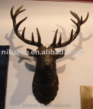 Deer Head Carving for Decoration