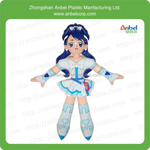 ANBEL Inflatable Cartoon Girl Decoration Blow up Toy Kids Birthday Party Supply