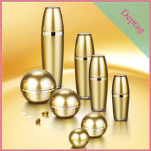 2015 new luxury ball shape 50ml plastic product container,30g jar cosmetic packaging,acrylic skincare containers