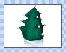 long curl shape OEM design various shape kid diy christmas hat
