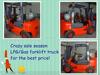 famous brand light duty diesel forklift 3000kg capacity diesel forklift truck for sale