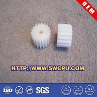 Small custom gears plastic