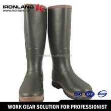 Natural rubber gumboots 2015 hot sale folding rubber rain boots