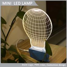 Global earth shape LED lamp,modern table lamp