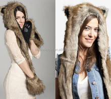 stock animal hat ,many style mixed ,popular and hot sell scarf