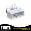 dual row 90 Degree 0.7mm pitch 20 way female connectors pin header