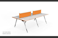 4 persons office workstations partition design 309-P02