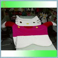 1.9M*1.6M Tatami futon Kitty cover cartoon sleeping toy bed skin floor leisure mattress cover