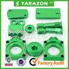 CNC billet aluminum bling kits parts for KAWASAKI KXF250 07-10 KXF 09-13 KLX 450 08-13