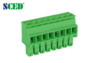 Pitch 3.50mm Single Level PCB Plug-in Terminal Blocks For Industry Control Automation alibaba co uk