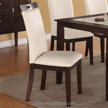 New China Wooden Dining Chair Dining Room Parts German Dining Room Furniture Wholesale JY-709
