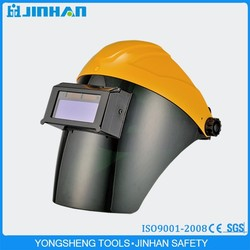 Jinhan Brand Good Quality Flip Up Design Auto Darkening Filter Welding Helmet