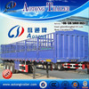 China manufacturer Fence trailer , cargo / Van / Animal transport trailer, side wall fence semi trailer