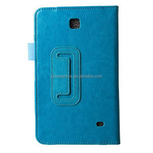 2015 hot custom design tablet leather case for Samsung Galaxy Tab 4 T230