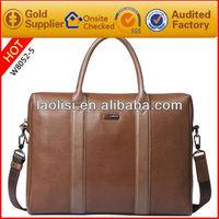 brand bag handbag men's real leather messenger laptop bag