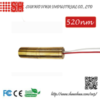520nm 5mW 3V Semiconductor Green Line Laser Diode Module/Laser Pointer(Not DPSS)