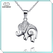 2SHE Gorgeous 925 solid silver elephant pendant