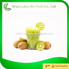 High Quality Kiwi fruit Extract Powder 10%Polyphenol 0.5%Enzyme Actindin UV