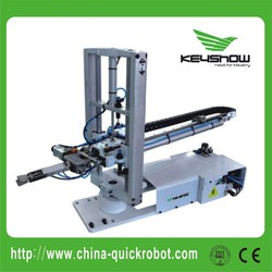 Industrial Vertical Plastic Injection Molding Machinery robot
