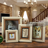 china suppliers sale natural color standing pine wooden photo frame for wholesale