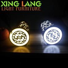 Gift Portable Mini 6PC Light Bead Eyesigt Protection Classical acrylic engraving LED Lamp