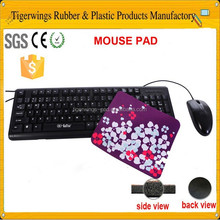 Pretty computer gamer mosue pad,mouse and mouse pad combo