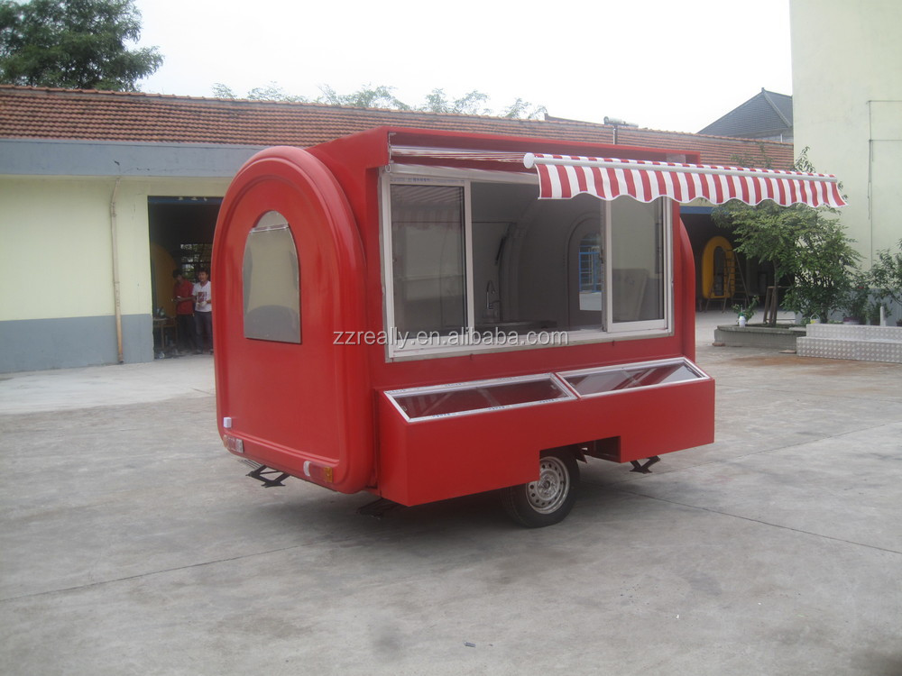 China Food Trailers Fast Food Mobile Kitchen Trailer Food Cart Trailer View China Food Trailers