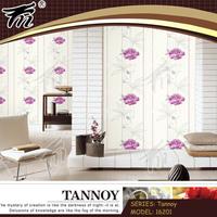 Natural wall paper/ wall decorating roses wallpaper