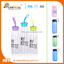 bottle manufacturers new style plastic bottle with mention strap lid with my bottle logo