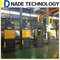 Hydraulic used clothes compress baler machine, used clothing baling machine