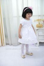 2013 nueva alta wite niños se visten ropa de calidad para la fiesta de la moda