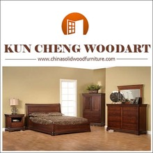 Solid wood cot bed wood furniture
