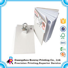 2015 China suppliers full color printing guest book wholesale