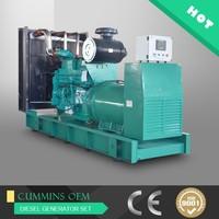 Price of 500kw AC synchronous generator diesel 625kva generator electric