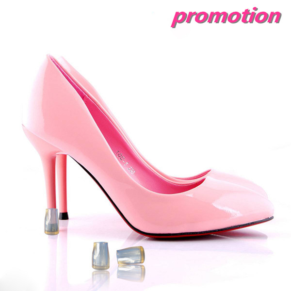 promotional noise reduction plastic high heel shoe cover