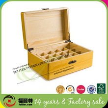 China custom wooden essential oil bottle storage boxes